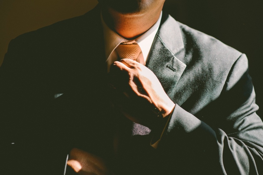 Well, yes, owning good interview clothes is part of getting you ready. Shush, now. Source: pexels.com
